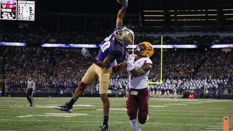 Washington's secondary can match up with Alabama