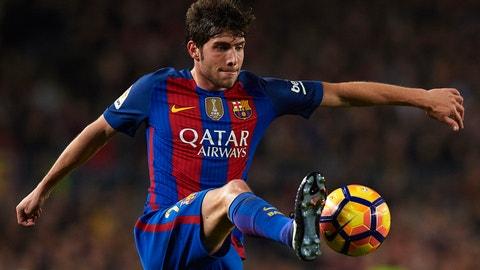 Defender: Sergi Roberto, Barcelona