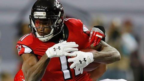 Julio Jones, WR, Falcons (toe)