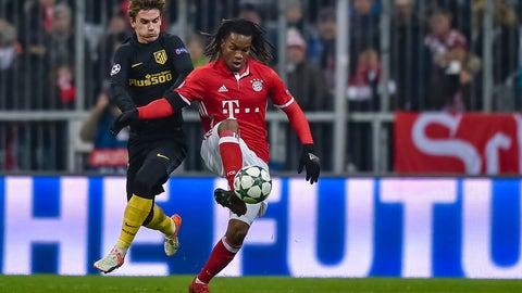 Midfielder: Renato Sanches, Bayern Munich