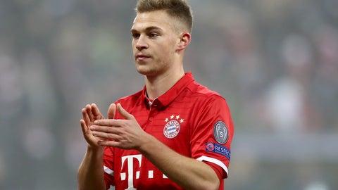 Midfielder: Joshua Kimmich, Bayern Munich