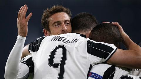 Juventus (Previously: 6)