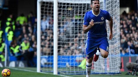 Spain striker: Diego Costa