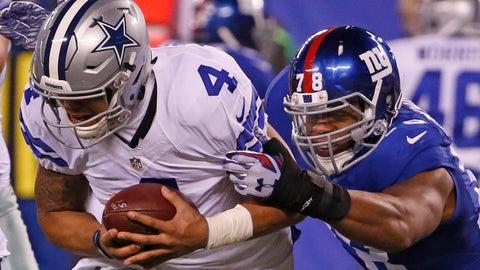 Giants 10 - Cowboys 7