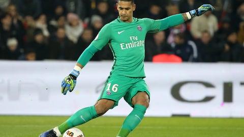 Goalkeeper: Alphonse Areola, PSG