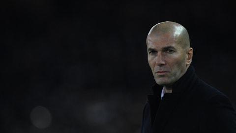 Manager: Zinedine Zidane