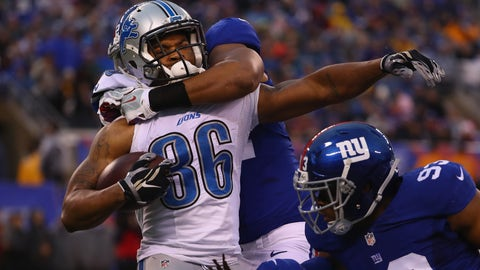 The Detroits Lions running game is no running game at all