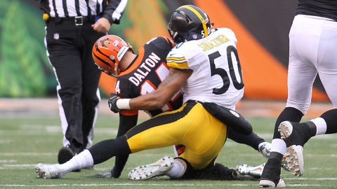 The Bengals' second half against the Steelers is a perfect disaster