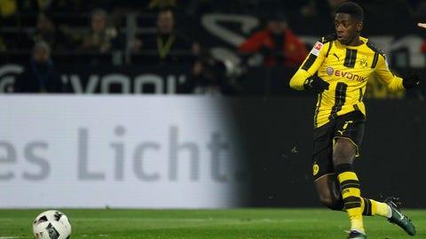 Forward: Ousmane Dembele, Borussia Dortmund