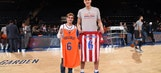 Antoine Griezmann went to a Knicks game and discovered just how short he is