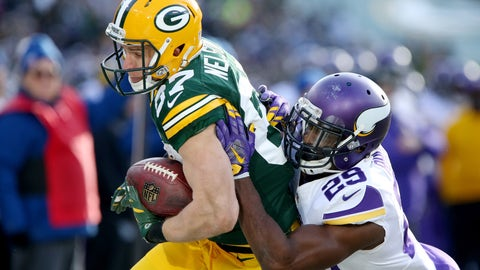 Xavier Rhodes wasn't worried about shadowing Jordy Nelson