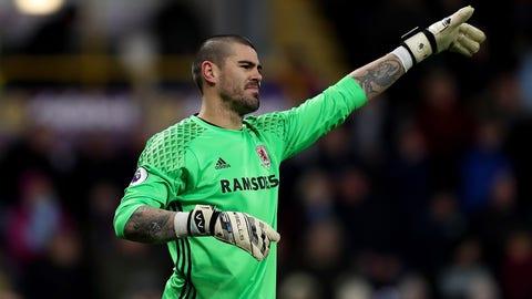 Catalonia goalkeeper: Victor Valdes