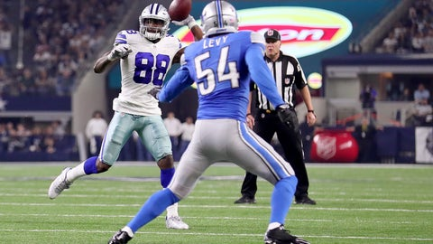 The first pass of Cowboys WR Dez Bryant's career goes for a TD to Jason Witten