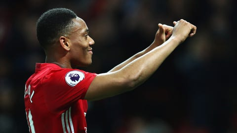 Hey there, Anthony Martial
