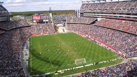 2002: LA Galaxy 1, New England Revolution 0