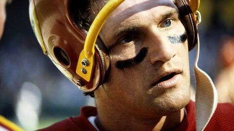 Joe Theismann helmet from Super Bowl XVII