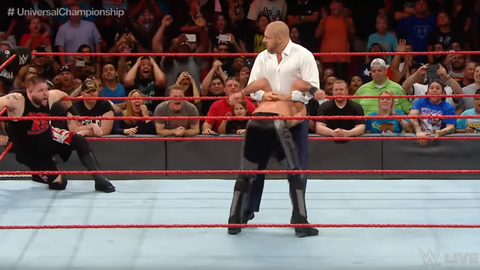 Triple H hands Kevin Owens the Universal title