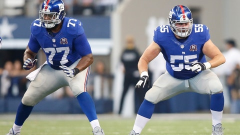 OL John Jerry, Giants