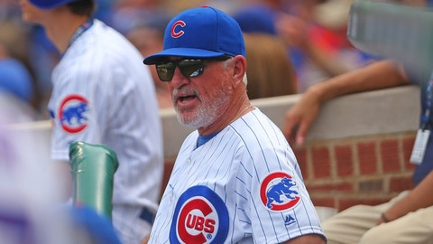 Chicago Cubs: Joe Maddon