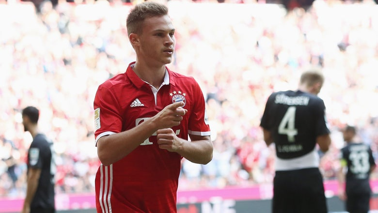Bayern Munich's Joshua Kimmich: On his versatility, admiring Xavi, Lahm and more