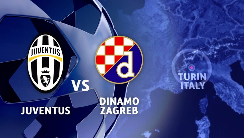 Juventus vs. Dinamo Zagreb | 2016-17 UEFA Champions League Highlights