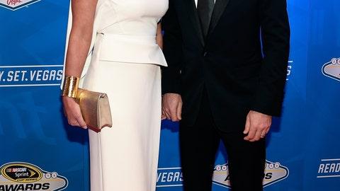 Kevin Harvick and wife, DeLana