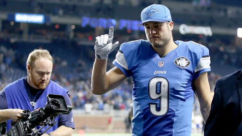 NFC #2 seed: Detroit Lions (9-4)
