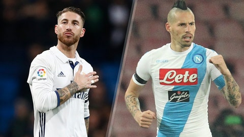Real Madrid vs. Napoli
