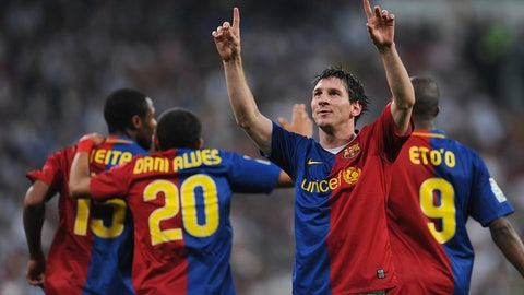 May 2, 2009 -- Messi shines in El Clasico rout