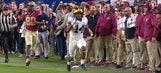 (6) Michigan blocks late field goal in Orange Bowl vs (11) Florida State Seminoles