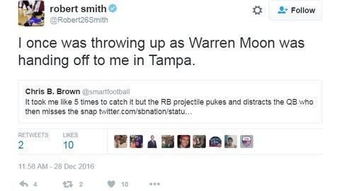 Robert Smith, Vikings running back