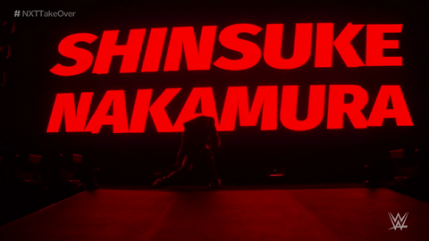 Shinsuke Nakamura makes his debut