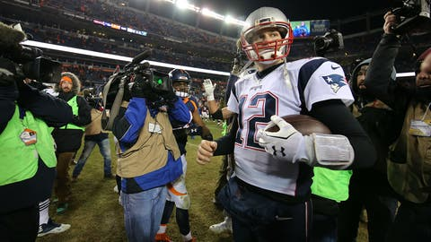AFC #1 seed: New England Patriots (13-2)
