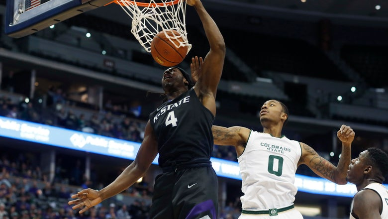 Johnson records double-double as K-State beats Colorado State 89-70