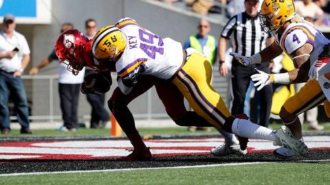 LSU executes perfect gameplan to stop college football's one-man juggernaut
