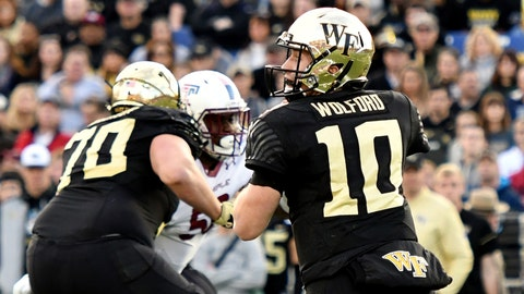 John Wolford's injury undercut the offense's most prolific day of the season