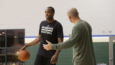9. Bucks' Khris Middleton injured before start of training camp, our for most, if not all, of the season