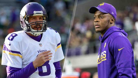 1. Teddy Bridgewater dislocates knee in practice, lost for season before it even begins /  Vikings deal 1st round pick in 2017 for QB Sam Bradford 8 days before start of season
