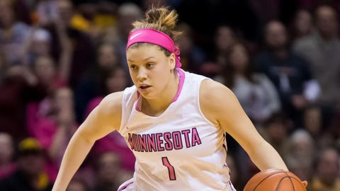 10. Minnesota's Rachel Banham ties NCAA women's record with 60 points in a game