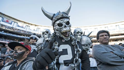 AFC #2 seed: Oakland Raiders (12-3)