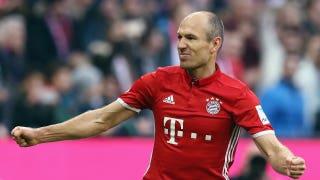 Robben scores a stunner into top corner vs. Wolfsburg | 2016–17 Bundesliga Highlights