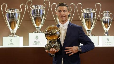 Cristiano Ronaldo's brilliant year