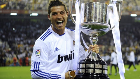 April 20, 2011 -- CR7 keeps rolling