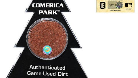 Real Game-Used Dirt from Comerica Park