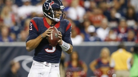 Cincinnati Bengals at Houston Texans, 8:25 p.m. NFLN