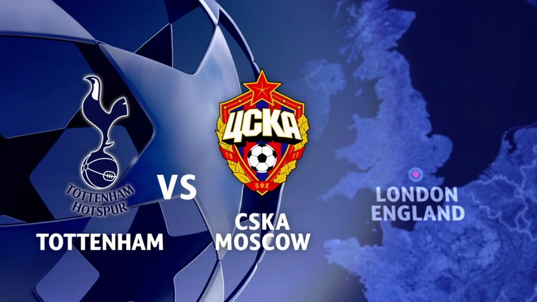Tottenham Hotspur vs. CSKA Moscow | 2016-17 UEFA Champions League Highlights