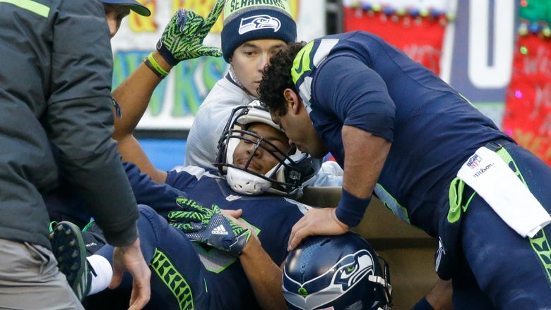 Seahawks WR Tyler Lockett says his leg will be '10 times stronger' after gruesome injury