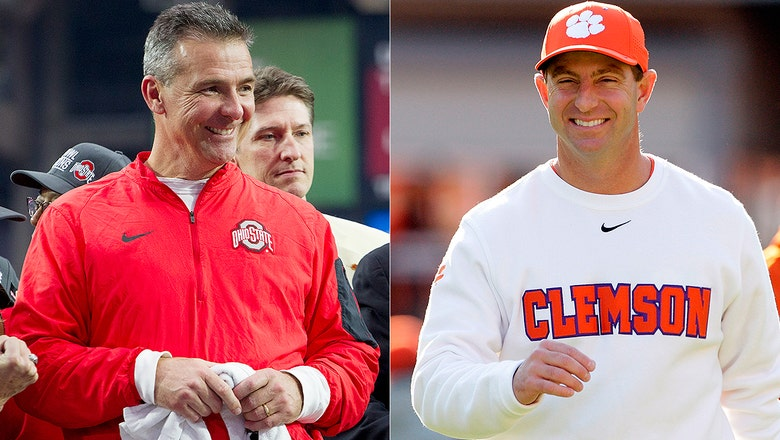 Dabo Swinney and Rich Rodriguez allegedly beat Urban Meyer and David Shaw in hoops