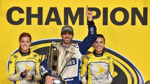 An eighth NASCAR cup championship for Jimmie Johnson