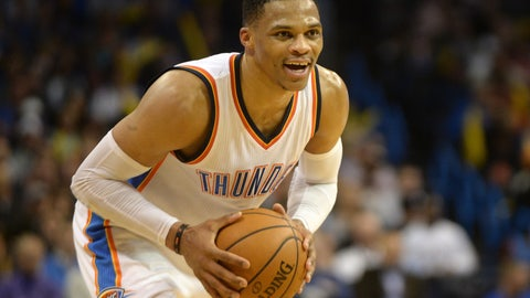 A triple-double average for Russell Westbrook